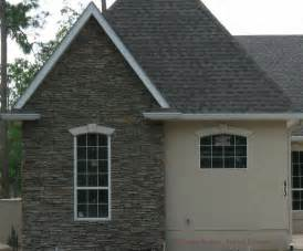 Stucco Stone Exterior Finishes