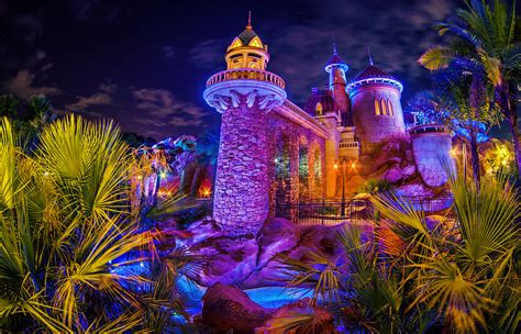 fantasyland prince erics castle walt disney world