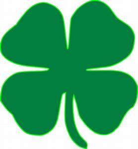 Shamrock Dark Green Clip Art at Clker.com - vector clip ...
