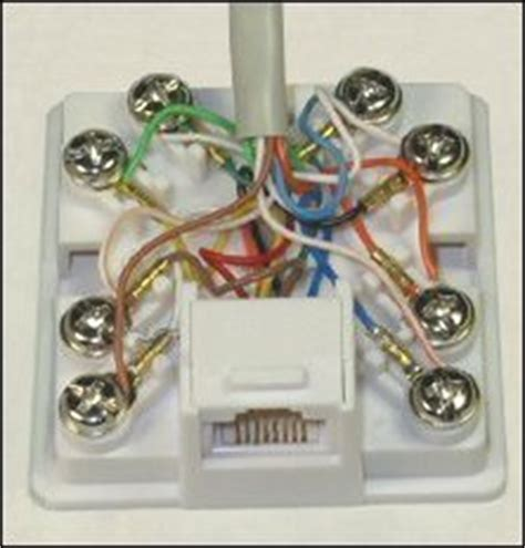 Rca Wall Plate Rj45 Connector Wiring Diagram by Adsl