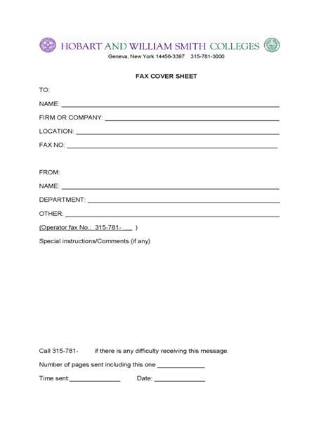 fax cover sheet  york