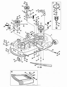 33 Craftsman 46 Mower Deck Parts Diagram