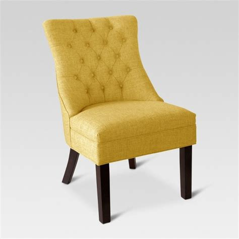 accent chairs yellow threshold target