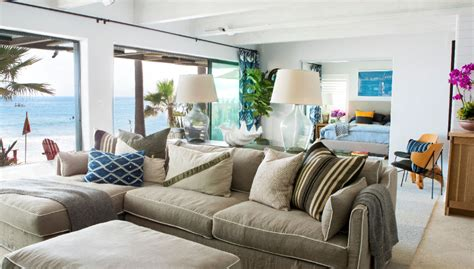 malibu beach house  colorful coastal interior decor idesignarch interior design architecture interior decorating emagazine