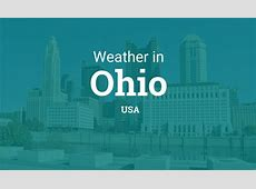 Weather in Ohio, United States