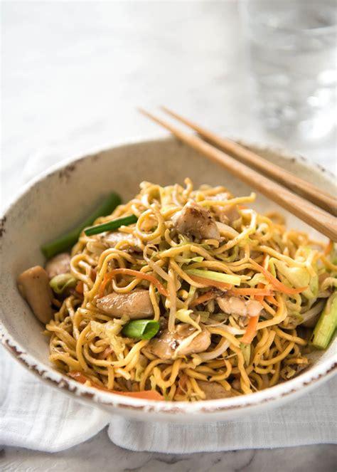chicken chow mein proper chicken chow mein recipetin eats