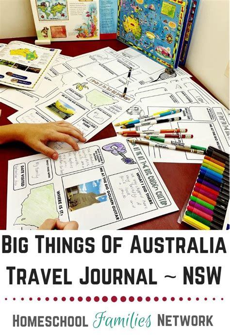 big things of australia travel journal for traveljournal journal kidsjournal australia
