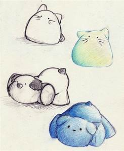 drawings of cute animals | Cute Stuffed Animal Design . by ...