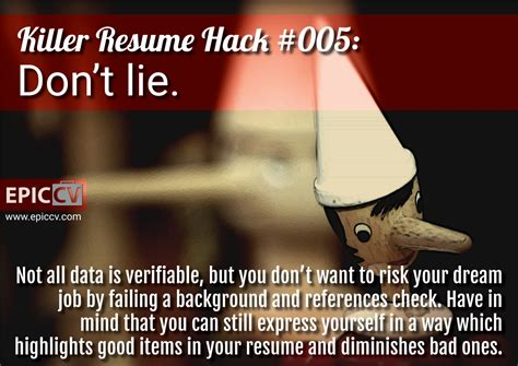 How To Lie On A Resume And Not Get by Last Words Of A Resume References Available Upon