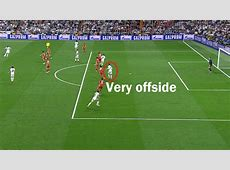 Cristiano Ronaldo was clearly offside for 2 big goals in
