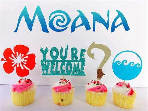 birthday party ideas for popsugar moana moana party moana cupcake toppers moana cake toppers