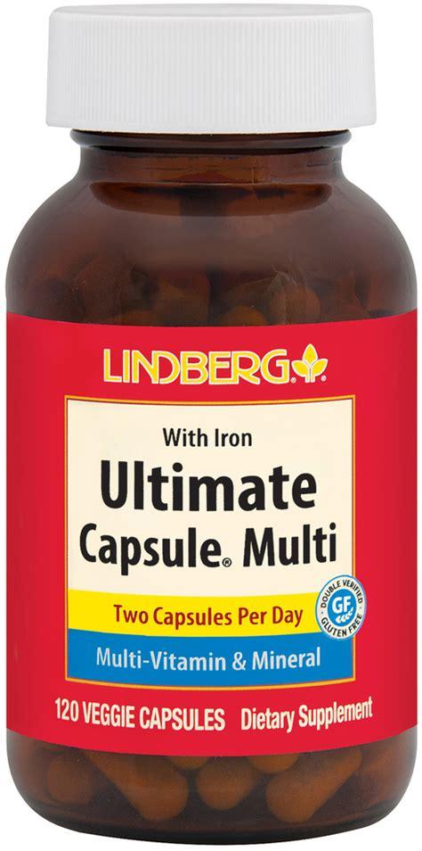 Ultimate Capsule Multi, 120 Vegetarian Capsules | Piping ...