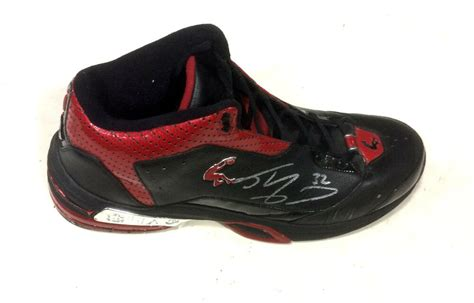shaquille oneal shaq signed game  size  miami heat