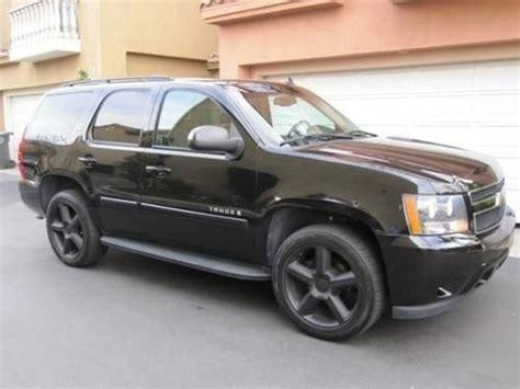 Buy Used 2007 Chevrolet Tahoe Ltz Black Loaded In Dallas