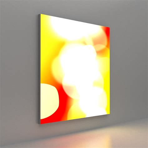 wall mounted lightbox tension fabric gh display