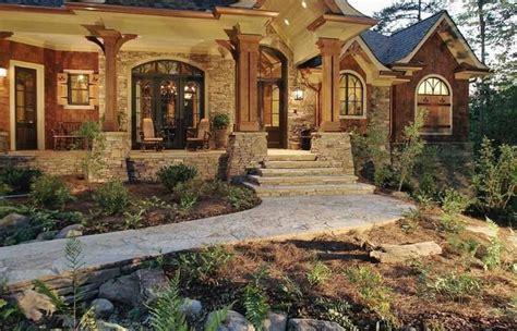 exterior cottage mediterranean style house plans craftsman