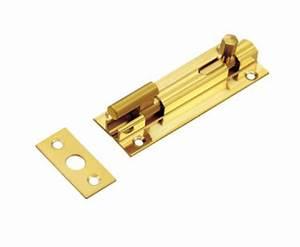 Door Lock Types 1 Inch Width Brass Sliding Door Latch For ...
