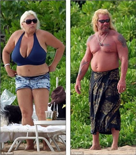 hello celebrity a shirtless dog the bounty hunter and his