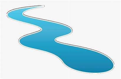 River Clipart Stream Flowing Water Flow Graphic