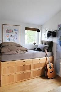 Agencer Une Chambre : 1001 id es pour la d co de la chambre de 9m2 comment ~ Zukunftsfamilie.com Idées de Décoration