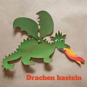 Dino Basteln Vorlage : die besten 25 drachen basteln ideen auf pinterest ~ Lizthompson.info Haus und Dekorationen