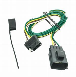 2004 Ford Explorer Curt T-connector Vehicle Wiring Harness For Factory Tow Package