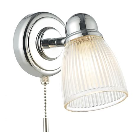 dar lighting cedric single light switched bathroom wall