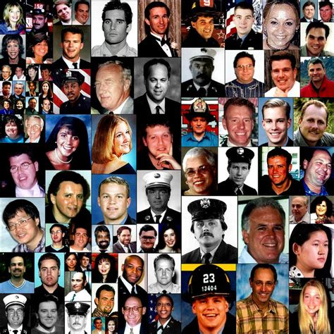 9 11 Victims Last Name W Picture Collage Movie