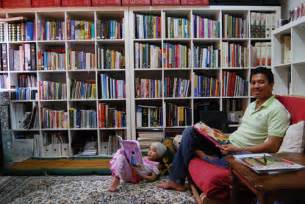 Small Home Library Design