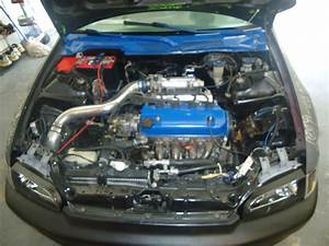1994 Honda Civic Dx Coupe Engine