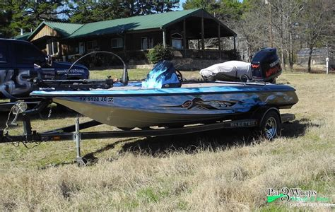 Fishing Boat Wrap Pics by The Gallery For Gt Skeeter Bass Boat Wraps