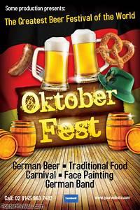 Oktoberfest Flyer Templates PosterMyWall