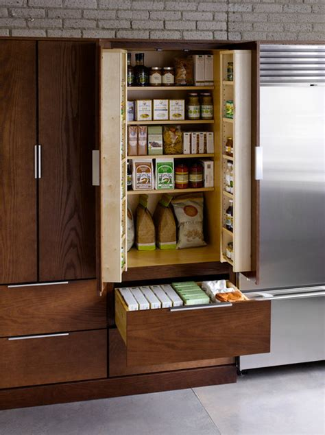 utility cabinet  pantry kit option traditional