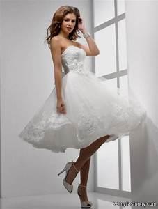 short white wedding dresses 2016 2017 b2b fashion With short wedding dresses 2017