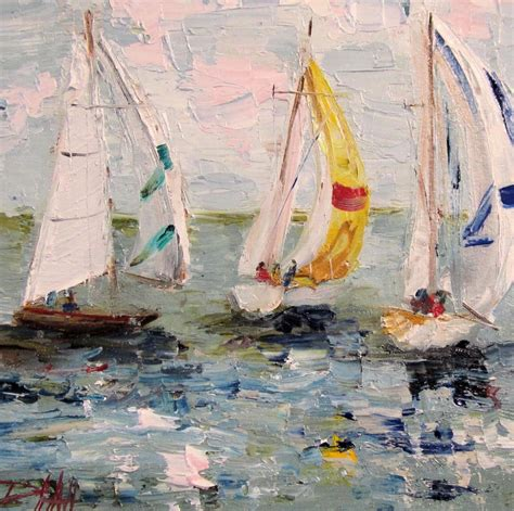 Sailboat Oil Painting by The Gallery For Gt Sailboat Painting