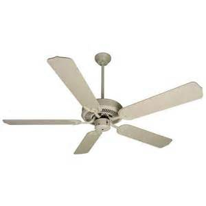antique white 52 inch ceiling fan without lights 319855