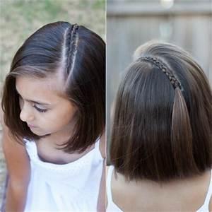 Coiffure Petite Fille Facile : coiffure mariage petite fille carre ~ Dallasstarsshop.com Idées de Décoration