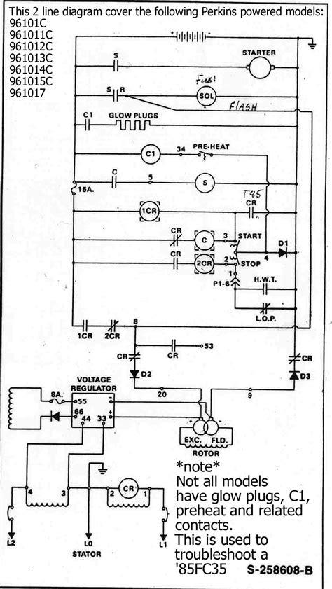 perkins genset engine kohler manuals and information wanderlodge owners