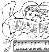 Bells Jingle Printable Coloring Christmas Sheet Fairy Template Graphicsfairy Graphics Colorful Thegraphicsfairy sketch template