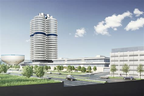 Verwaltungsgebaeude In Muenchen by Sanierung Des Bmw Parkhauses In M 252 Nchen Momentum Projekte
