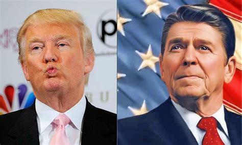 Why Donald Trump Isn't Ronald Reagan