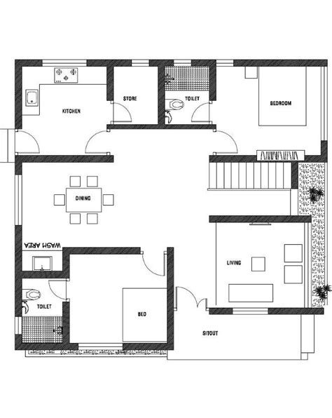 square feet  bedroom single floor contemporary style home   cent plot  plan home