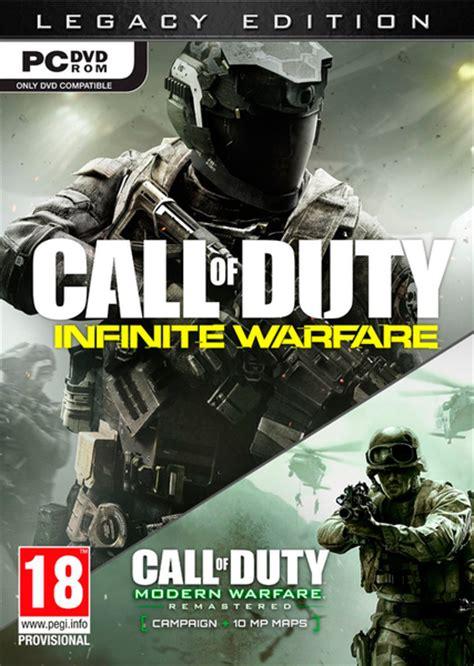 call  duty infinite warfare pc video games