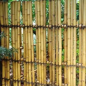 Bamboo Garden Fencing Post : Hot Home Decor - Bamboo Fence