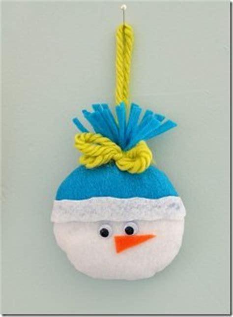 felt snowman ornament allfreechristmascraftscom