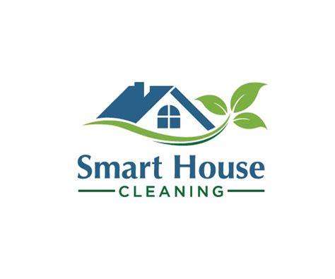 Home Design Companies by Smart House Cleaning Logo Design 5 P E