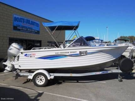 Boats For Sale Perth Wangara by Quintrex 540 Freedom Sport Four Stroke Outboard Great