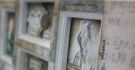 Eclectic Paperie Altered Frame With Gypsies Harmony