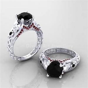 285 best gothic engagement rings images on pinterest With womens gothic wedding rings