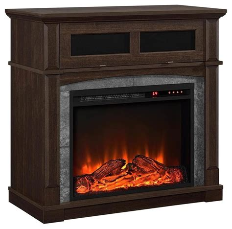 fireplace finishes fireplace cherry finish contemporary indoor